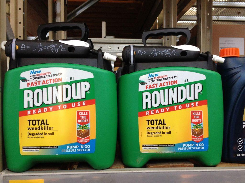 Roundup - glyphosphate base herbicide